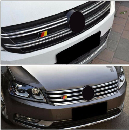 1PC German Flag Logo Car Auto Front Grill Grille Emblem Badge Decal Sticker