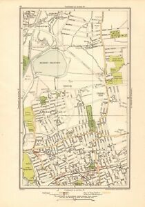 image is loading 1923 london street map walthamstow higham hill banbury