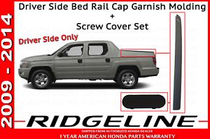Driver Honda Ridgeline Improved Bed Rail Cap Molding Screw Cap Cover 06-14