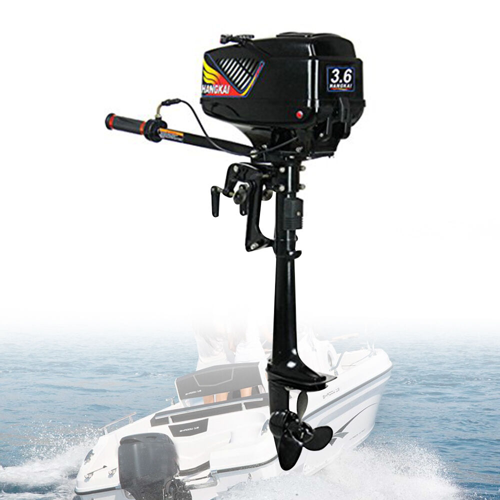3,6HP 2 tempi Motore fuoribordo Motore per gommone Water Cooling CDI System
