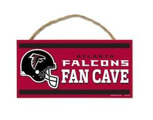 Atlanta-Falcons-Holzschild-Tuerschild-25-cm-NFL-Football-Fan-Cave-Wood-Sign