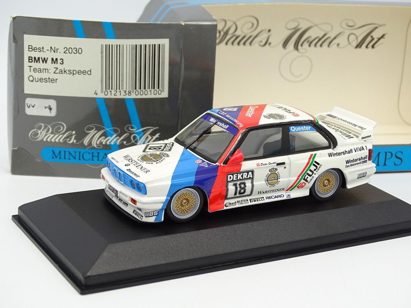 Minichamps 1 43 - BMW M3 E30  DTM 1990 Quester