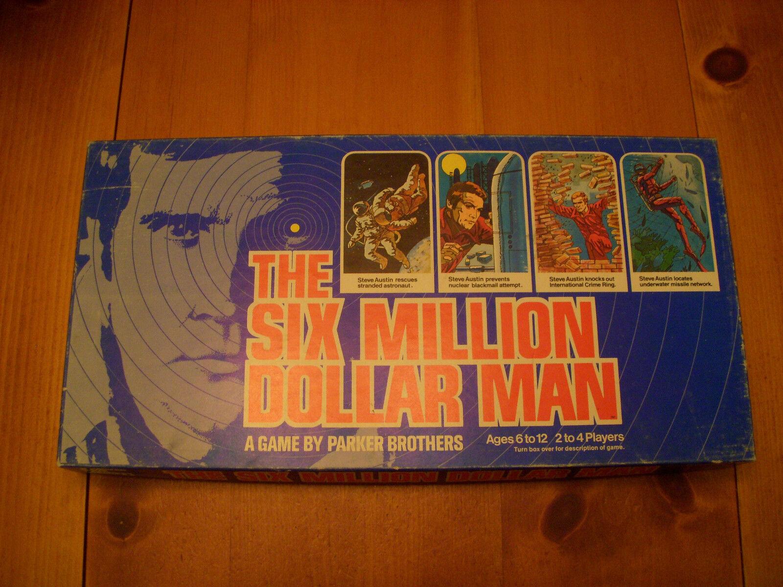 VTG Lot of 3 SIX MILLION DOLLAR MAN 1975 MATERPIECE 1970 PIRATE & TRAVELER 1960