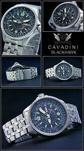 Blackhawk-Automatic-Men-039-s-Watch-Cavadini-Timepiece-Japanese-Miyota-Tag-Date
