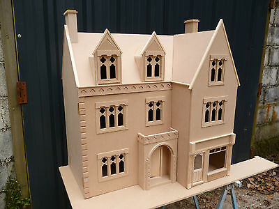 1/12th Doll House Display Model The Draycott Gothic House / Shop  Ready Made