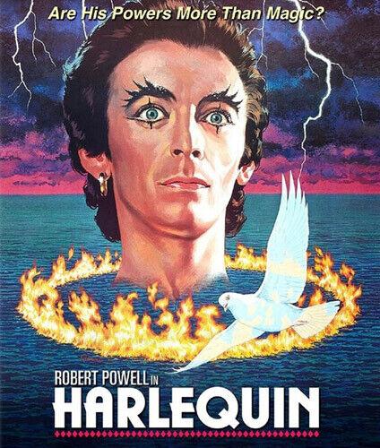 Harlequin (1980 Robert Powell) (Dark Forces) BLU-RAY NEW