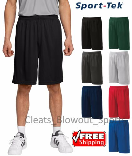 Mens Sport-Tek Performance Shorts Wicking Dry Work Out Training Running ST355
