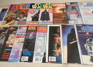 Lot-of-16-Star-Wars-Insider-magazines-amp-books-1977-1998-Empire-Strikes-Back