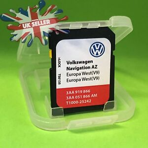 Details about VW VOLKSWAGEN RNS315 SD Card V9 AZ Sat Nav Map Navigation  Update 2018 UK&EUROPE