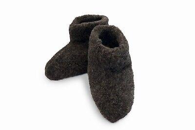Size 11 WOMEN/'S MERINO WOOL BOOTS WARM COZY SLIPPERS MOCCASINS CHUNI GREY