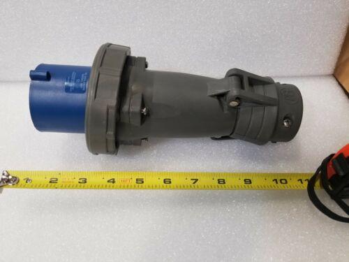 Pass /& Seymour PS560P9-W Pin /& Sleeve Watertight Plug 60A 3PH 5W 120//208VAC