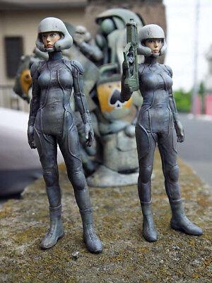 Unpainted Resin Kit w_1993 1/20 Lieutenant Hanna free Shipping two Type Hand Audacious