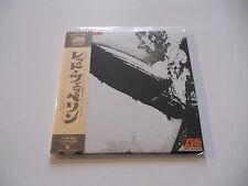"""Led Zeppelin """"Same"""" Rare Japan cd Paper Sleeve"""