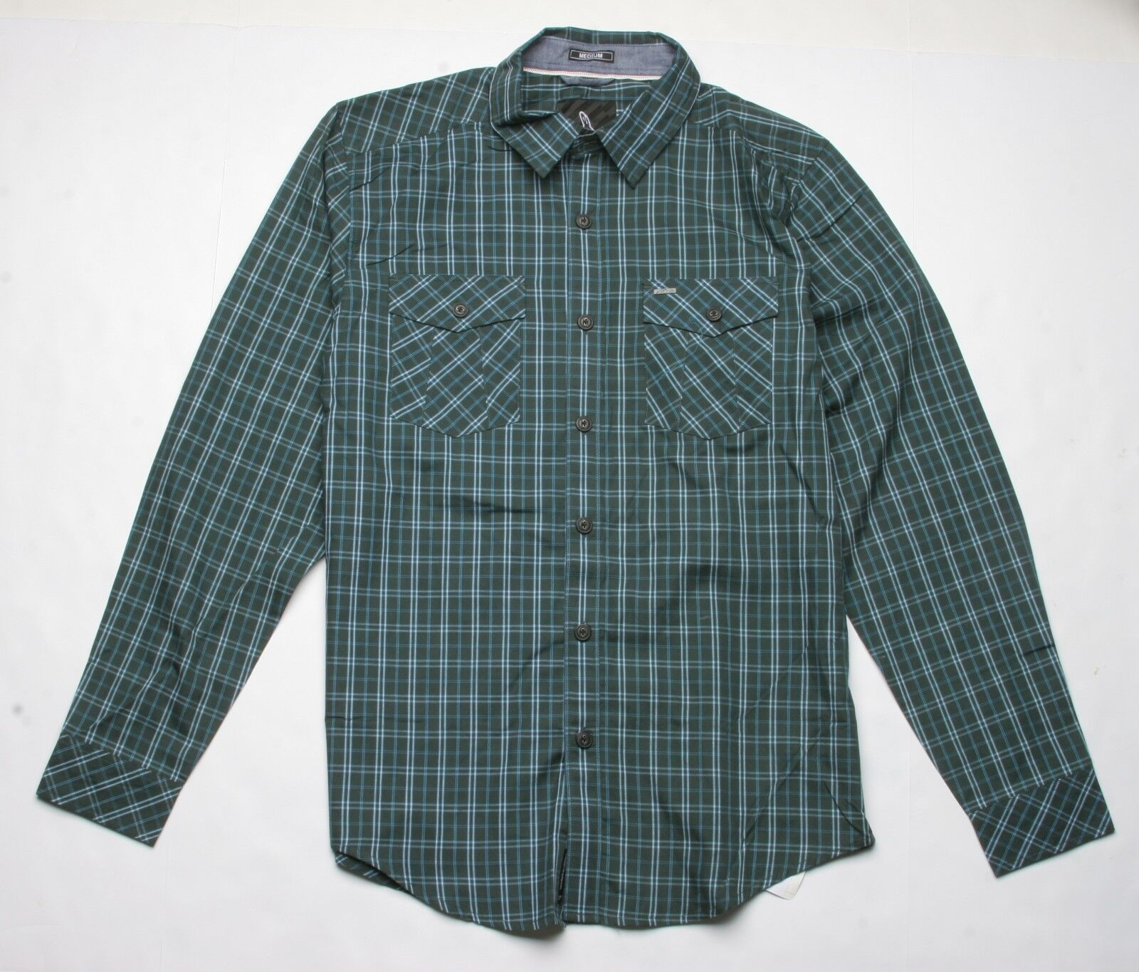 Alpinestars Slim Long Sleeve Shirt (M) Dark Green