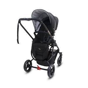 Valco Snap Ultra P Pram/Stroller Foldable/Ergo-Pivot Seat for Baby/Infant Black