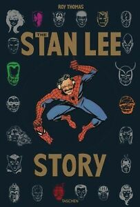 THE-STAN-LEE-STORY-EXTRA-LARGE-DELUXE-HARDCOVER-IN-PUBLISHER-039-S-ILLUSTRATED-BOX