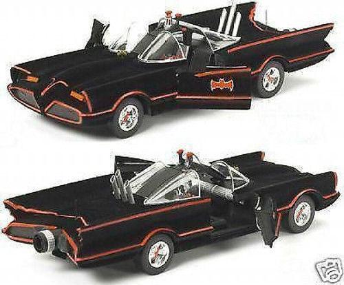 1:18 HOT WHEELS film originale modello 1966 Batmobile TV SERIE Batmobil Batman