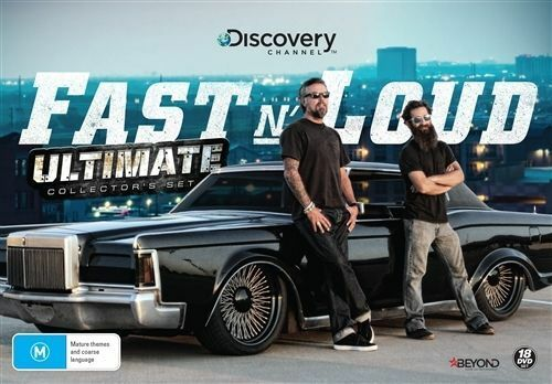 Fast N' Loud Ultimate Collectors Set - 18 DVD Set - NEW / SEALED