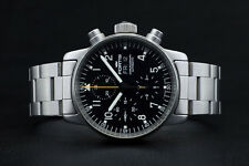 1st gen Fortis Pilot Professional Automatic Chronograph Day-Date w Box & booklet