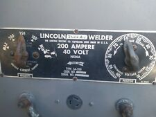 New Listinglincoln Sa 200 Pipeliner Dc Shield Arc Welder Runs And Welds Smooth 1959