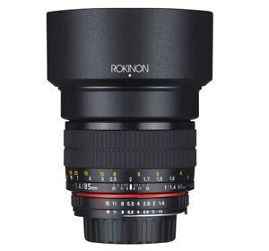 Rokinon 85mm F1.4 Full Frame Lens (Sony E) Gently Used