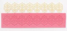 Silicone Cake Mold Decorating Lace Impression Mat Baking Tool