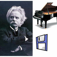 Grieg Classical Solo Piano Collection for all Yamaha Disklavier Floppy Disk.