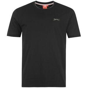 274ce8c43a16e T-shirt enfant NEUF noir marque SLAZENGER Taille 7-8 ans - SPORT ...