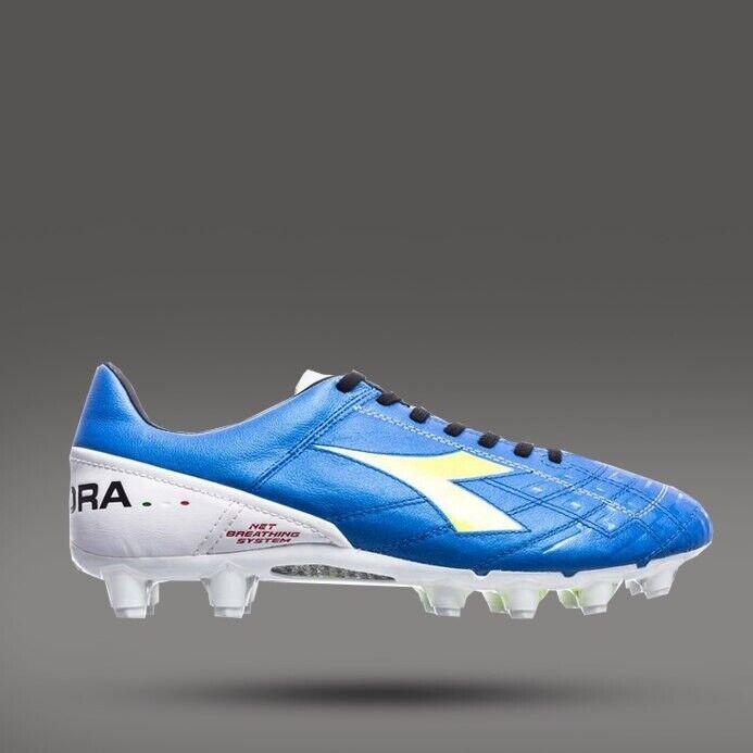 DIADORA EVOLUZIONE 2 KPRO FG C1970 Footbtutti stivali Soccer blu UK6.5 UK10.5