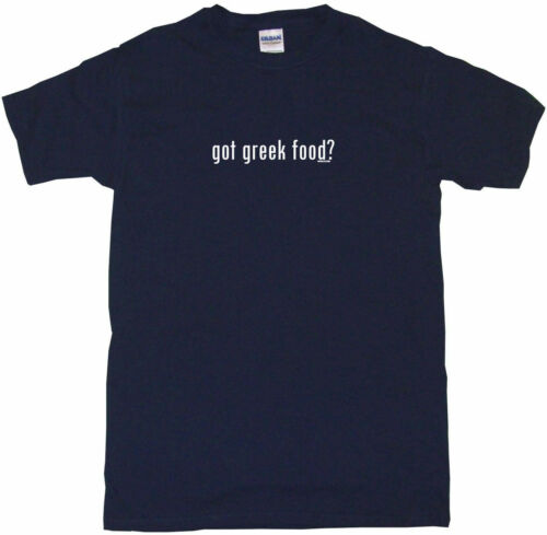 Got Greek Food Kids Tee Shirt Boys Girls Unisex 2T-XL