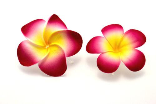 Haarblume Hawaiblüte Hibiskus Lotusblüte Haarblüte Blumenclip Rose 2 Stck.1Preis