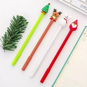 Christmas-Gel-Pen-Black-Pen-Novelty-Pen-Stocking-Filler-Office-Party
