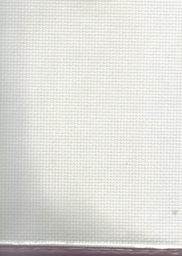 Crème Choisir Couleur /& Taille Ivoire Point de croix tissu blanc 14 Comte Aida Nouveau