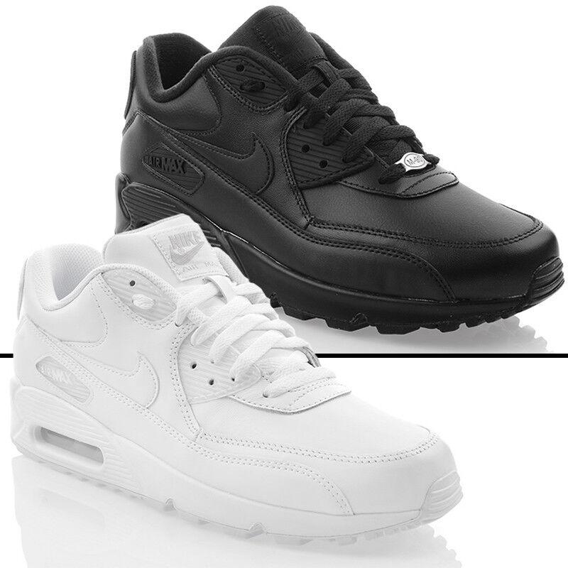 shoes Nuovo Nike Air Max 90 pelle shoes da Ginnastica men Esclusivo Sneakers