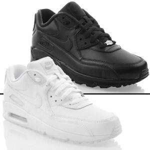 NIKE AIR MAX 90 LEATHER Herren Turnschuhe EXCLUSIVE Sneaker