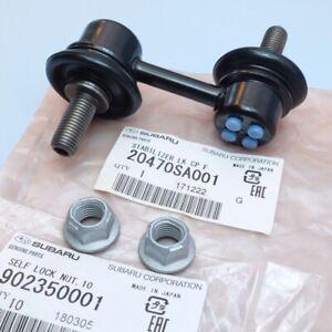 Front Suspension Link Kit Set For Subaru Impreza Forester Outback Legacy WRX STI