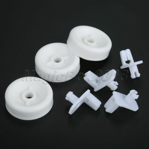 Kitchen Dishwasher Lower Rack Wheels Roller Kit for WD35X21038 WD12X441 Parts