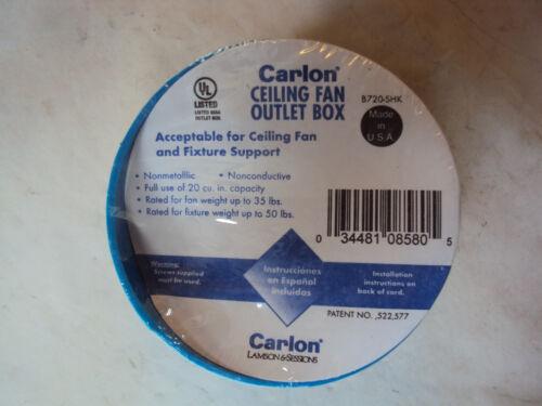 LOT OF 15   CARLON CEILING FAN OUTLET BOX new