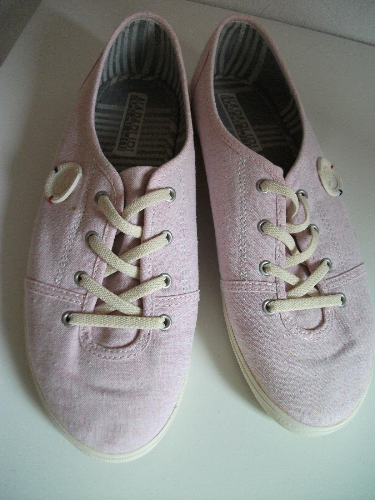 ORIG. tela NAPAPIJRI-moderna, comoda sneaker in tela ORIG. TG. 40 NUOVO 214304