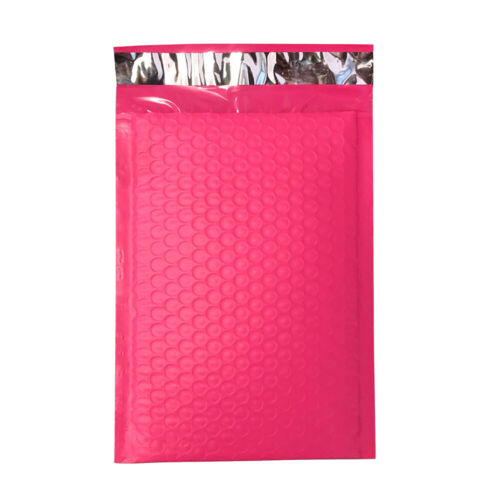 10X Poly Bubble Mailers Padded Envelope Self-sealing Shipping Bags Red Gift DIY