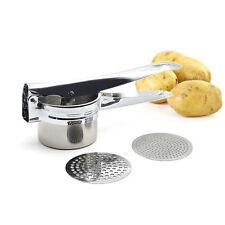 Stainless Steel Mash Potato Mashers Ricer Fruit Press Kitchen Kitchenware SHER