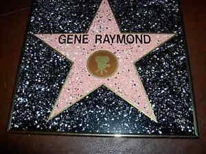 GENE RAYMOND HOLLYWOOD STAR REPLICA -- WALK OF FAME