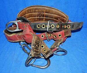 Red-Black-Climbing-Belt-Safety-Tool-Belt