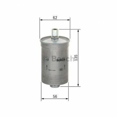 0450905021 Filtro Carburante Bosch per motori iniezione a benzina