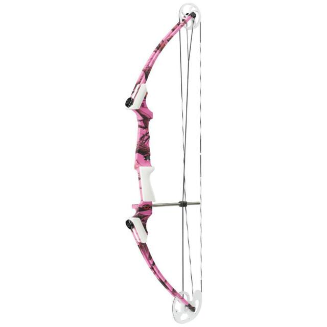 Genesis Compound Bow Left Hand Pink Camo