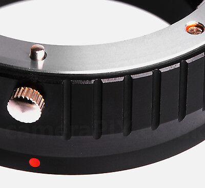 Olympus Panasonic 4/3 Four Thirds FT Lens to Sony NEX Alpha E-mount adapter ring