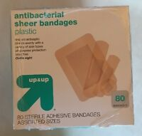 Up & Up Antibacterial Sheer Bandages (lot Of 6)
