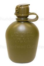 Tan Details about  /USGI 1 Quart Canteen US Military Heavy Duty Rigid Plastic Water Bottle