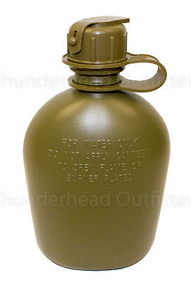 NEW US Military 2 Quart Collapsible Water Canteen 2 QT Bladder w M-1 Cap