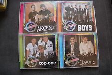 Disco Polo - Akcent - Classic - Boys - Top One - 4CD SET !!!  POLISH RELEASE